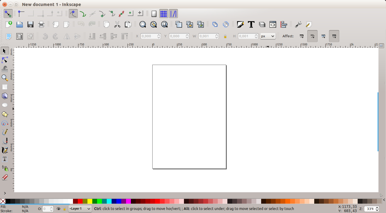 Inkscape - new window