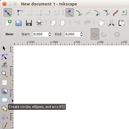 Inkscape - circle tool