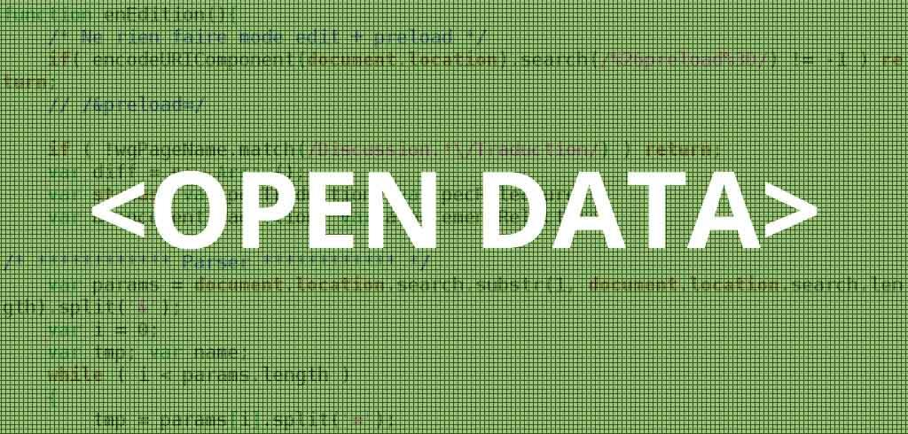 Open data (vert)