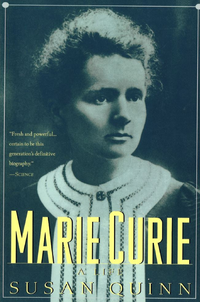bibliography_marie_curie_a life