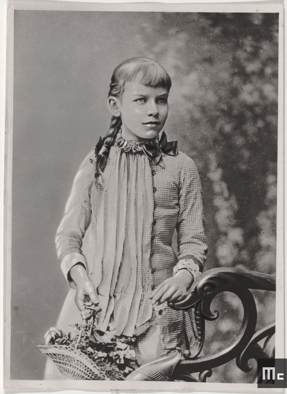 Andzaz Zorawska, Maria Sklodowska's pupil, from 1886 to 1889 (Source : Musée Curie ; coll. ACJC)
