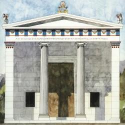 L'Andrôn de Mausole, T. Thieme et F. Löfvenberg