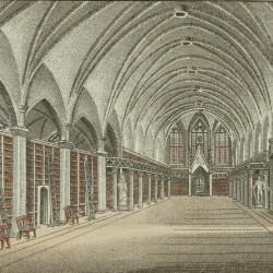 Grande salle de la bibliothèque universitaire de Göttingen