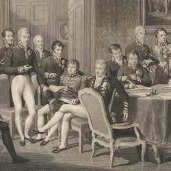 Le congrès de Vienne Jean Godefory (graveur), Jean-Baptiste Isabey (dessinateur), 1819, © RMN-Grand Palais (musée des châteaux de Malmaison et de Bois-Préau) / Gérard Blot