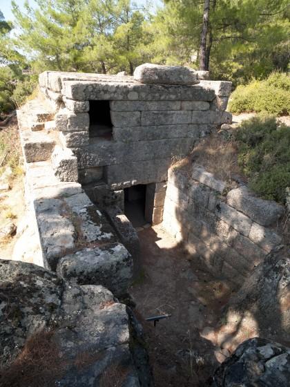 La tombe monumentale de Labraunda