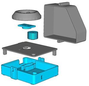 pièces imprimées en 3D