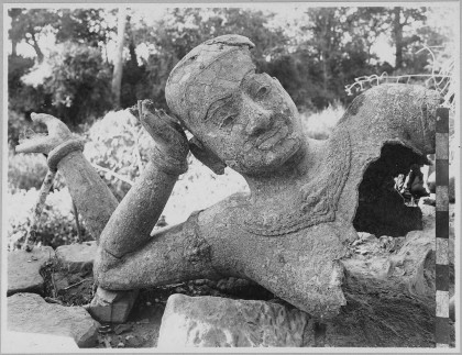 Le grand Vishnu couché