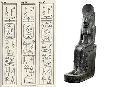 humboldt-Inscriptions relevées sur les statues de Sekhmet