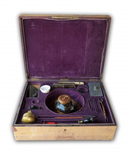 Nécessaire du bureau d'Alexander von Humboldt