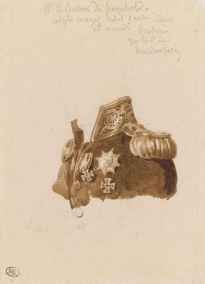 Costume du baron de Humboldt lors du congrès de Vienne
