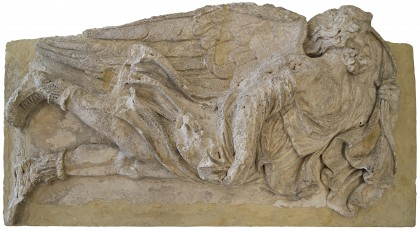humboldt-Bas-relief sculpture of Eurus