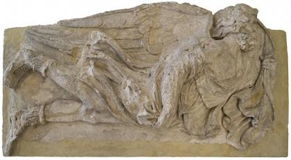humboldt-Bas-relief sculpture of Eurus