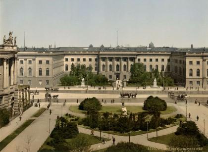 humboldt- Berlin. Universität (actuelle Humboldt-Universität)