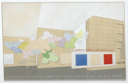 Pavillon de la France, Groupe des matières premières pour la parfumerie, à l'exposition internationale de New York