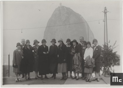 Marie and Irene Curie in Rio de Janeiro, Brazil, July/August 1926 (Source: Musée Curie; coll. ACJC)