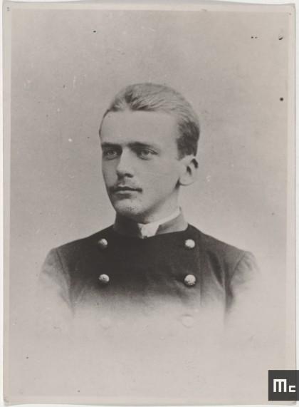 Kazimierz Zorawski, fils aîné de la famille Zorawski, où Maria Sklodowska travaille comme préceptrice de 1886 à 1889, à Szczudi, Pologne (Source : Musée Curie ; coll. ACJC)