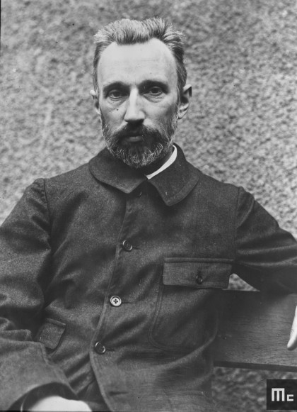 Pierre Curie in 1905 (Source : Musée Curie ; coll. ACJC)