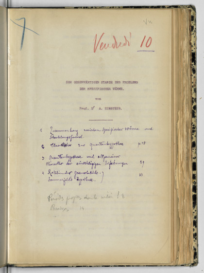 Conseils Sovay : volume Brilloin