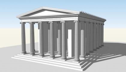 Le temple de Zeus à Labraunda