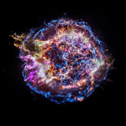 explosion d'une Supernova