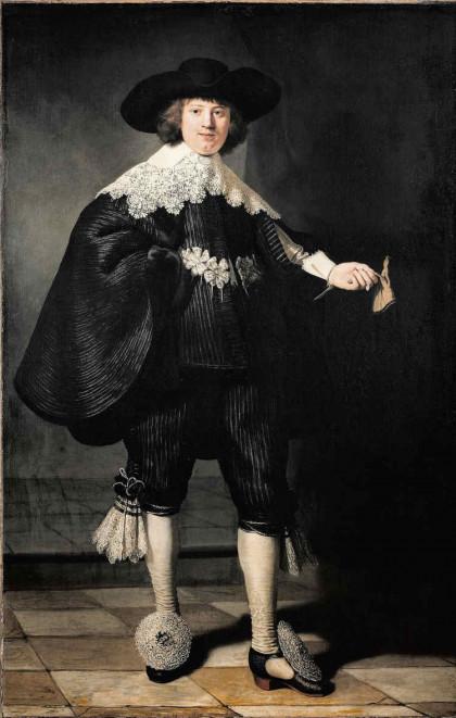 Portrait de Maerten Soolmans Rembrandt, 1634