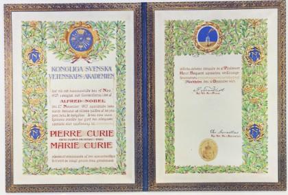 Prix Nobel Curie 1903