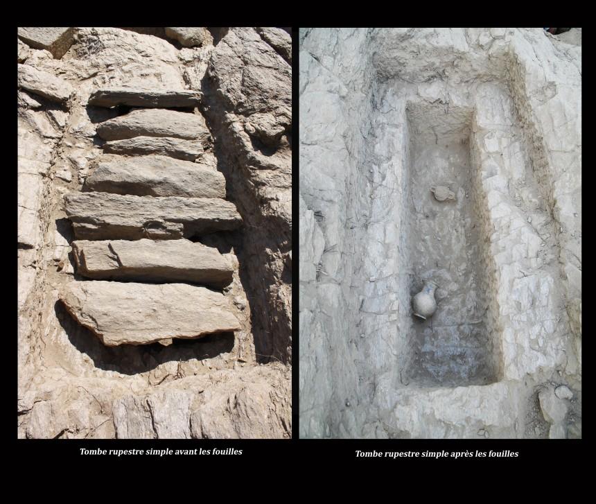 Tombe rupestre simple