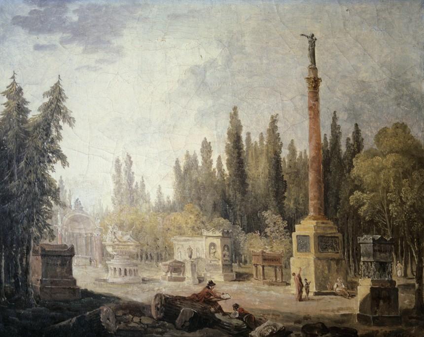 Jardin du musée des Monuments français, ancien couvent des Petits-Augustins