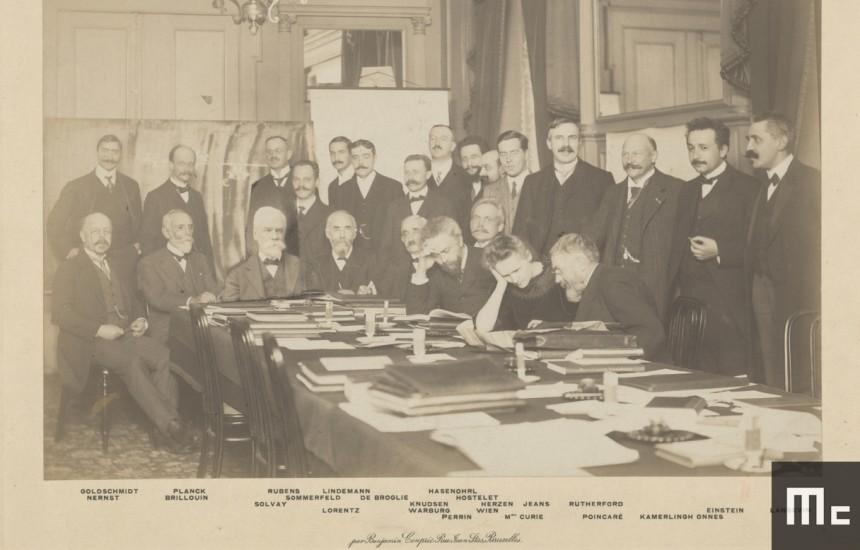 Le premier Congrès Solvay, en 1911.