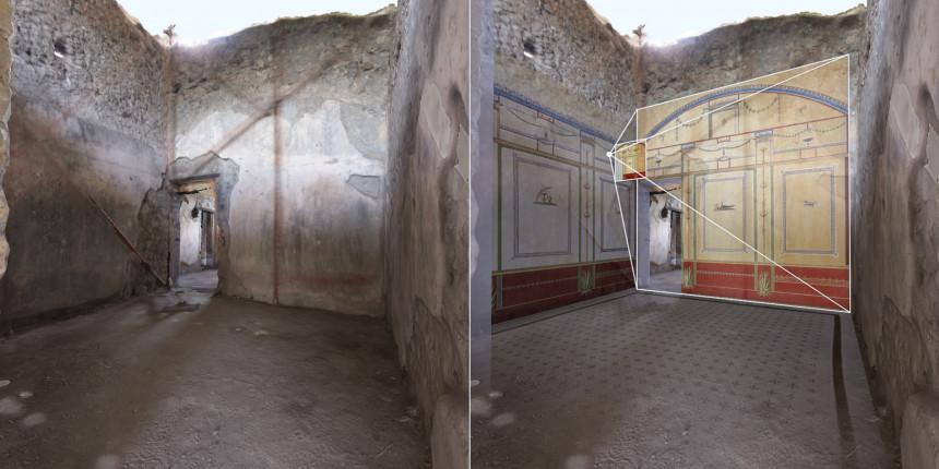 Fresque villa Diomède