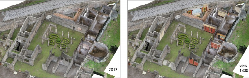 Pompéi Villa Diomède
