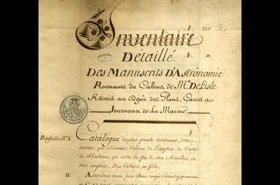 Observatoire de Paris - Archives historiques