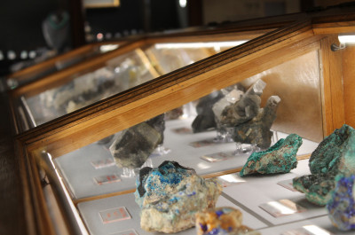 Musée de Minéralogie - Mines - PSL; photo © N. Razakariasa