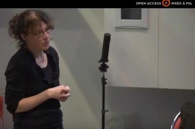 Birgit Schmidt, Open Science, Open Access Week, PSL, ESPCI