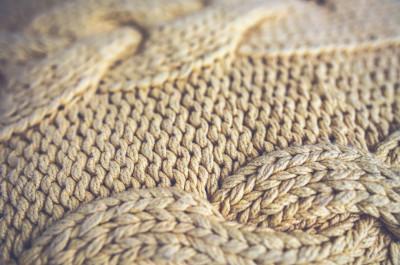 La physique du tricot