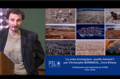 Conférence Christophe Bonneuil PSL
