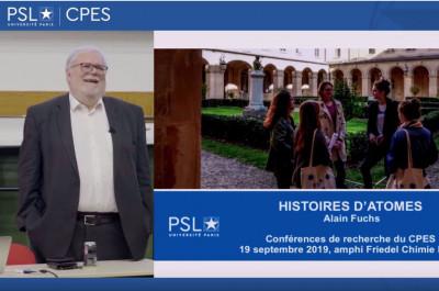 Alain Fuchs : Histoire d'atomes