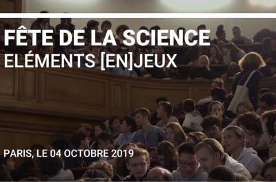 Conférence sur les éléments [en]jeux : Fête de la Science 2019 à PSL