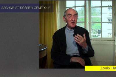 Dialogue avec Louis Hay, génétique du texte