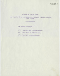 Rapport  Curie1923