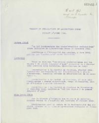Liste des travaux et publications établie le 26 avril 1923