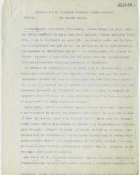 Rapport de Marie Curie sur l'activité de son laboratoire pendant l'année scolaire 1912-1913