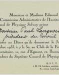 Monsieur et Madame Edmond Solvay
