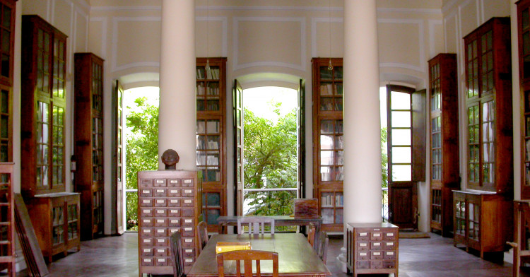 Bibliotheque  EFEO Pondichéry