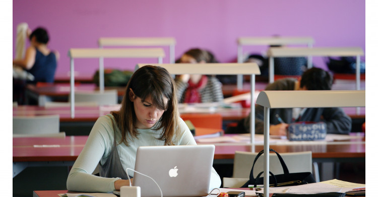 Bibliothèque étude - Université Paris-Dauphine