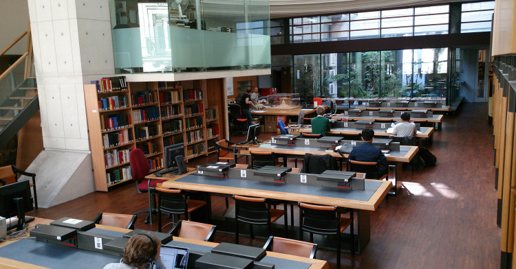 Bibliothèque du Centre de Recherches sur la Corée - EHESS - Maison Asie