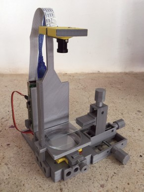 Un microscope en open source