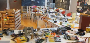 Exposition science frugale : les ateliers